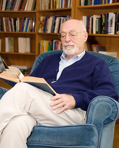 Senior Man Reading
